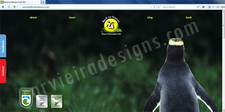 Web Designer Back to Nature | Tourism Dunedin